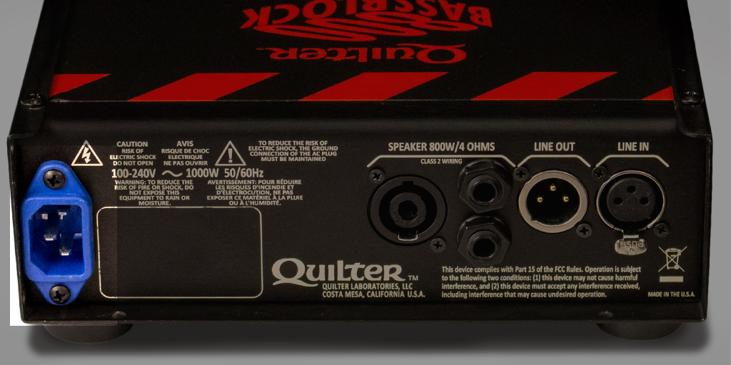 The Quilter Bass Block 800 Quilter Labs